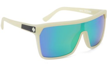 Spy Optic Flynn Sunglasses, Bro In The Dark Frame, Grey w/ Green Spectra Lens 673016271811