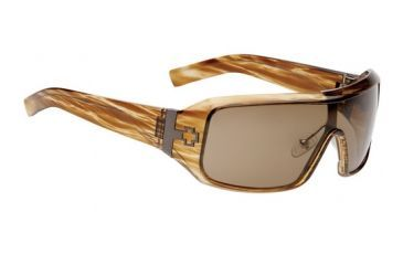 670373316069 Brown Stripe Tortoise frame, Bronze lenses