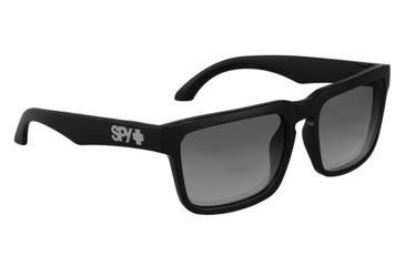 Spy Optic Helm Sunglasses w/ Black Frame & Grey Polar Lens