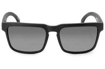 Spy Optic Helm Sunglasses w/ Matte Black Frame & Grey Lens