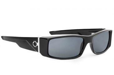 4bac4cfab9a Spy Optic Hielo Single Vision Prescription Sunglasses - Black Frame  570375062000RX