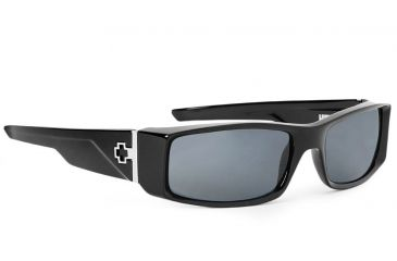 Spy Optic Hielo Sunglasses, Black Frame, Grey Lenses 670375062129
