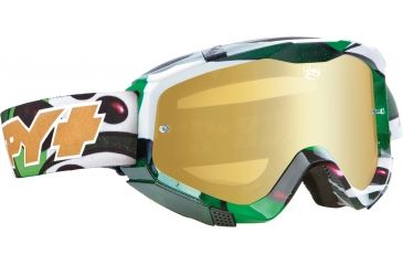 Spy Optic Klutch MX Goggles - SPY + Jeremy McGrath Frame and Smoke w/Gold Mirror + Clear Lens 322017632829
