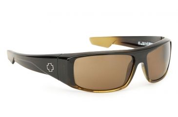 Spy Optic Logan Single Vision Prescription Sunglasses - Bronze Fade Frame 570939130000RX