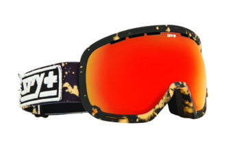 Spy Optic Marshall Snow Goggles - Acid Reign - Bronze W/Red Spectra Lens 313013025083