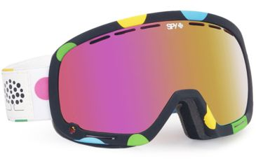 Spy Optic Marshall Snow Goggles - Spy+Les Ettes - Pink w/Pink Spectra Lens 313013974943