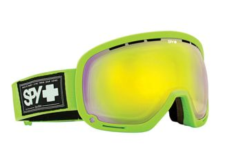 Spy Optic Marshall Snow Goggles - Ultra Lime - Yellow w/Green Spectra Lens 313013357816