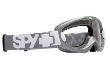 Spy Optic Alloy Offroad Goggles - Gray frame, Clear lens
