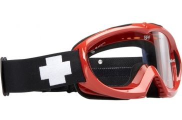 Spy Targa Mini MX Goggles - Red frame, Clear lens 320391512097
