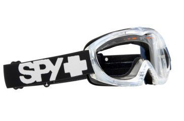 Spy Optic Targa II Moto Goggles - Clear frame, Clear lens 320774183097