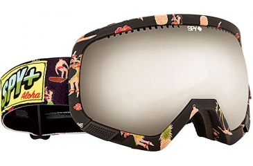 Spy Optic Platoon Goggles - Aloha - Bronze w/Silver Mirror Lens + Yellow Lens 312012097084
