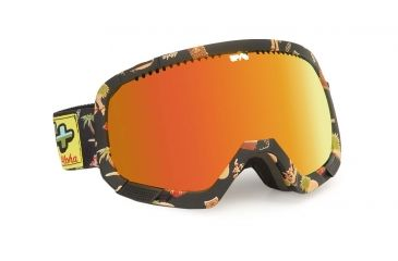 Spy Optic Platoon Goggles - Aloha/Flight - Bronze w/Red Spectra Lens  Yellow Lens 312012097083