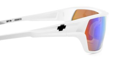 Spy Optic Quanta Single Vision Prescription Sunglasses - Matte White Frame 573007396000RX