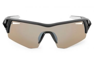 Spy Optic Screw Sunglasses w/ Black Frame & Bronze Silver Mirror Lens