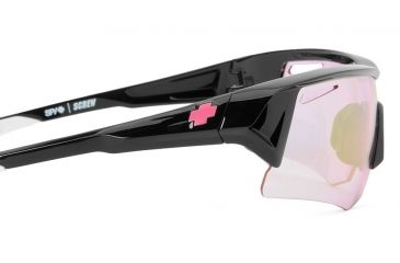 Spy Optic Screw Sunglasses w/ Spy + Keep A Breast Frame & Pink Spectra Lens