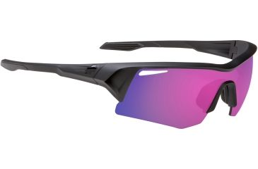 4ed18c28d3b3c Spy Optic Screw Sunglasses - Black Ice Frame and Grey W Purple Spectra Lens  673019975219