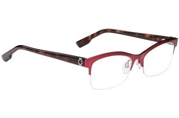 Spy Optic Single Vision Prescription Eyeglasses - Avery 52 - Burgundy Frame SRX00066RX