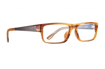 Spy Optic Single Vision Prescription Eyeglasses - Bixby 53 - Brown Horn Frame SRX00038RX