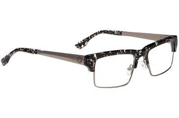 Spy Optic Single Vision Prescription Eyeglasses - Flint 51 - Black Flake/Gunmetal Frame SRX00096RX