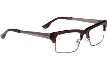 Spy Optic Single Vision Prescription Eyeglasses - Flint 51 - Classic Tort/Gunmetal Frame SRX00097RX