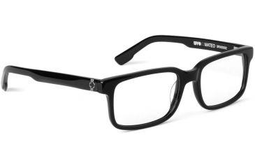 Spy Optic Single Vision Prescription Eyeglasses - Mateo 52 - Black Frame SRX00092RX