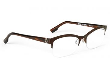 Spy Optic Spy Optic Avery Eyeglasses - Mahogany Frame & Clear Lens, Mahogany SRX00067