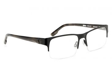 Spy Optic Spy Optic Felix Eyeglasses - Black/Black Tortoise Frame & Clear Lens, Black/Black Tortoise SRX00007