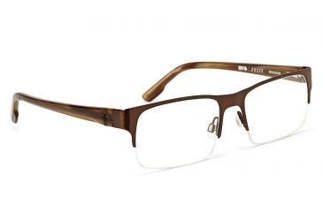 Spy Optic Spy Optic Felix Eyeglasses - Chestnut Frame & Clear Lens, Chestnut SRX00008