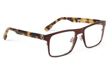 Spy Optic Spy Optic Heath Eyeglasses - Mahogany Frame & Clear Lens, Mahogany SRX00072