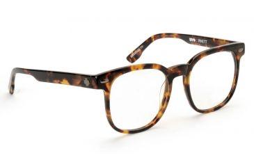 Spy Optic Spy Optic Rhett Eyeglasses - Tiger Tortoise Frame & Clear Lens, Tiger Tortoise SRX00103