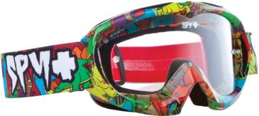 Spy Optic Targa Mini MX Goggles - Dino Jr Frame and Clear AFP Lens 320390271094
