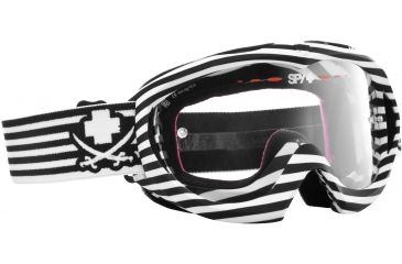 Spy Optic Targa Mini MX Goggles - Scallywag Frame and Clear AFP Lens 320390396094