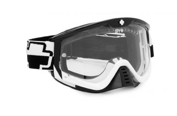 Spy Optic Whip MX Goggles w/ Predator Frame & Clear Antifog Lens w/ Posts