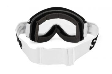 Spy Optic Whip MX Goggles w/ White Sabbath Frame & Clear Antifog Lens w/ Posts