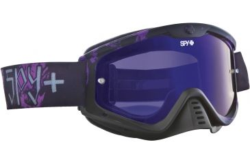 Spy Optic Whip MX Goggles - Reaper Frame and Smoke w/Dark Blue Spectra Lens 320791993830