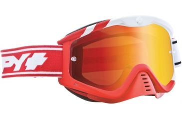 Spy Optic Whip MX Goggles - Sunday Red Frame and Smoke w/Red Spectra Lens 320791396827