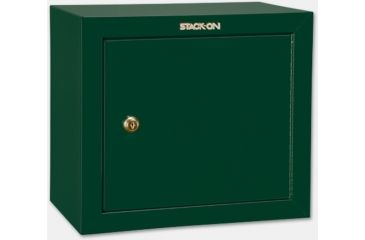Stack-On Pistol/Ammo Steel Cabinet w/ 1 Removable Shelf, Hunter Green GCG-500
