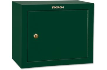Stack-On Pistol/Ammo Steel Cabinet w/ 2 Removable Shelves, Hunter Green GCG-900