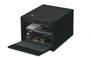 Stack-On Quick Access Safe with Electronic Lock, Black, Small QAS-450-DS