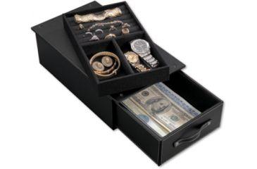 Stack-On SPAJD-12 Security Safe Jewelry Case, Black SPAJD-12