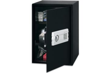 Stack-On Super Sized Personal Safe w/ Electronic Lock, Black PS-520