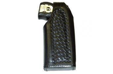 Stallion Leather Taser X26 W/ 2 1/4inch Pl-lh - TSR-11-12