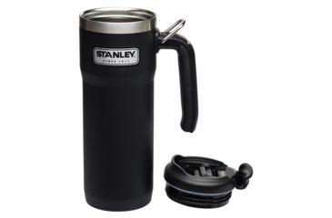 6d45ae9f7c5 Stanley Classic Vacuum Lock Mug 20oz, Matte Black, 10-06442-002