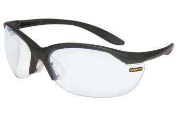 Stanley Rst 61004 Vapor Black Frame Clear Lens Sport Safety Glasses