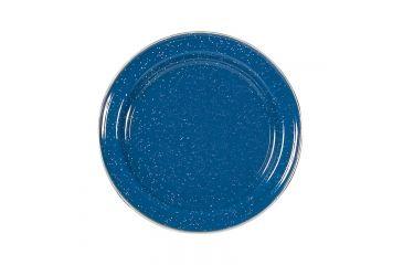Stansport Enamel Dinner Plate Stainless Steel Edge, 8 3/5in. 192452