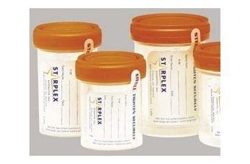 Starplex LeakBuster Specimen Containers, Starplex B1202-1O 120 Ml (4.1 oz.) Containers