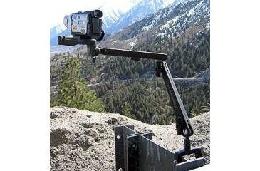 Steady Mount Universal Clamping Device in use