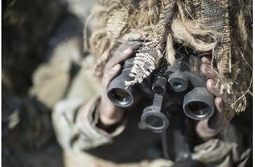 7-Steiner 10x50 M50 LRF Military Binoculars w/ Laser Rangefinder & Tripod Mount
