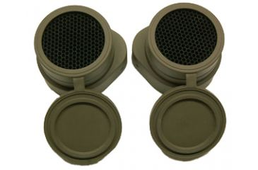 Steiner Anti-Reflective Lens Covers for Military Binoculars
