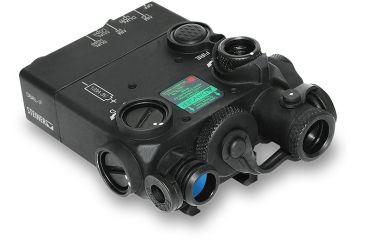 Steiner eOptics eOptics Laser Devices Dual Beam Aiming Laser, Intelligent DBAL-I2, PEQ-2, IR, Class I, 4mW Adjustable IR Illumination, Black, 9007